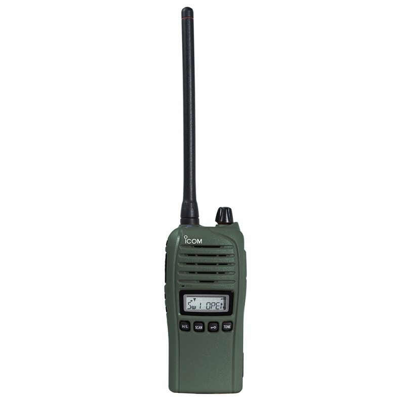 Icom ProHunt Advanced Jaktradiopaket Grön