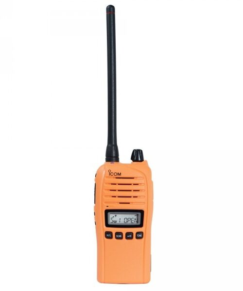 Icom ProHunt Advanced Jaktradiopaket Orange