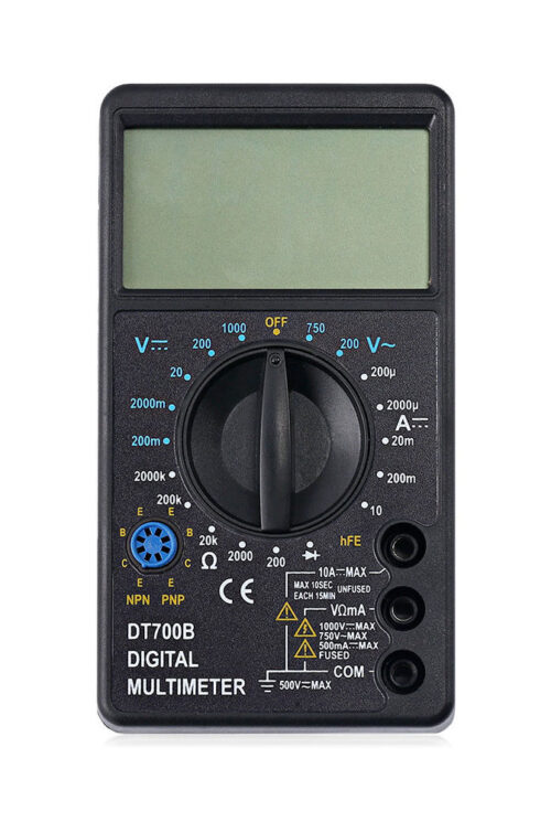 Mätinstrument – multimeter