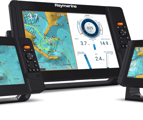 Raymarine Element 12s med Quantum radar